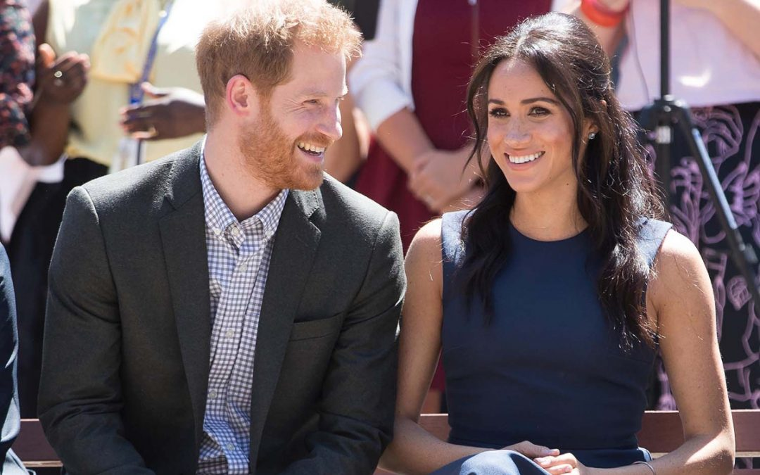 "The Royal Spin – Meghan and Harry ""Step Back"""