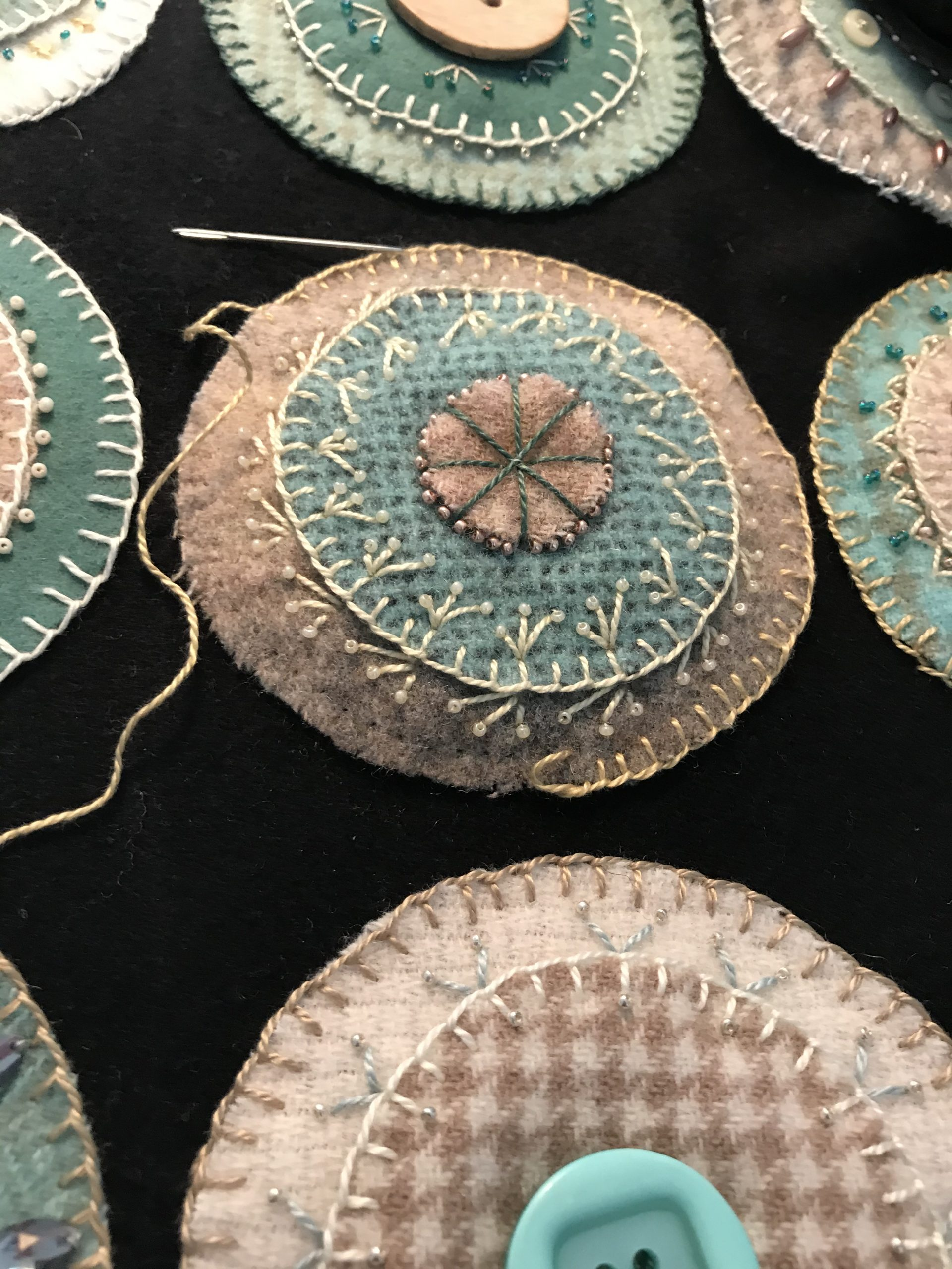 Listening, Learning & Stitching
